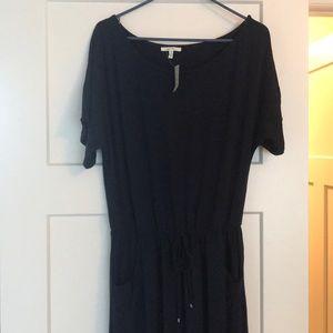 Navy Blue Dress. Size Medium